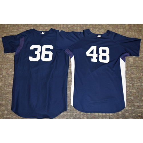 Photo of Detroit Tigers Home Batting Practice Jersey Collection (NOT MLB AUTHENTICATED)