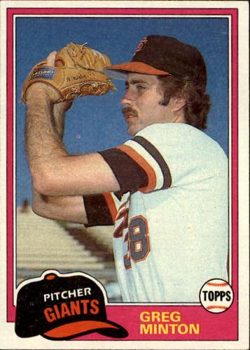 Photo of 1981 Topps #111 Greg Minton