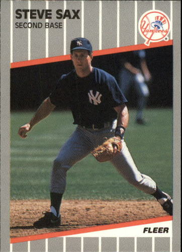 Photo of 1989 Fleer Update #52 Steve Sax