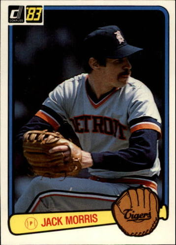 Photo of 1983 Donruss #107 Jack Morris