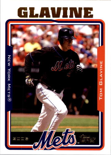 Photo of 2005 Topps #13 Tom Glavine