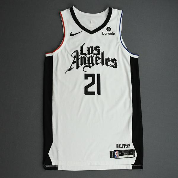 Image of Patrick Beverley - Los Angeles Clippers - Game-Worn 2nd Half City Edition Jersey - 2019-20 Season
