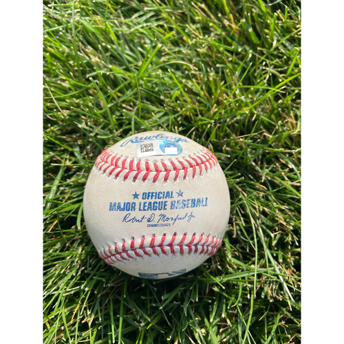 Photo of Cardinals Authentics: Game Used Baseball Pitched by Jose Berrios to Tommy Edman *Home Run 2RBI*