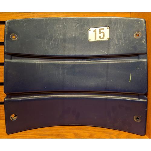 Photo of Fenway Park Blue Section 33 Seatback #15
