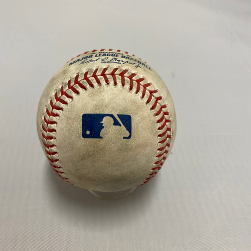 Photo of 2020 AL Rookie of the Year - Kyle Lewis 2020 Game Used Baseball used on 9/16 - B-1: Single to CF off of Drew Smyly
