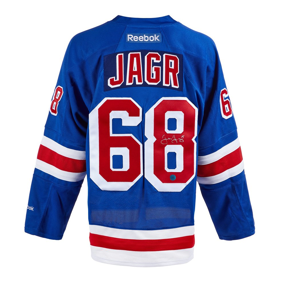 Jaromir Jagr New York Rangers Autographed Reebok Premier Jersey