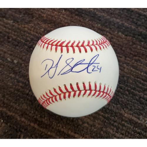 Photo of DJ Stewart - Autographed Baseball