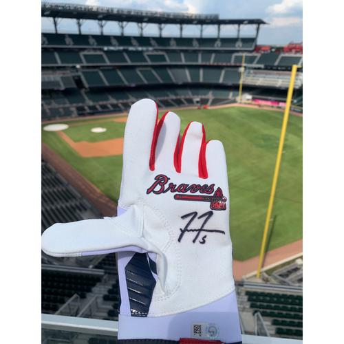 Photo of Freddie Freeman MLB Authenticated Autographed Batting Glove
