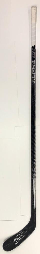 #65 Erik Karlsson Game Used Stick - Autographed - San Jose Sharks