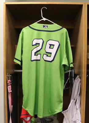 Stockton Ports Robin Vazquez Asparagus jersey, #29, Size 46