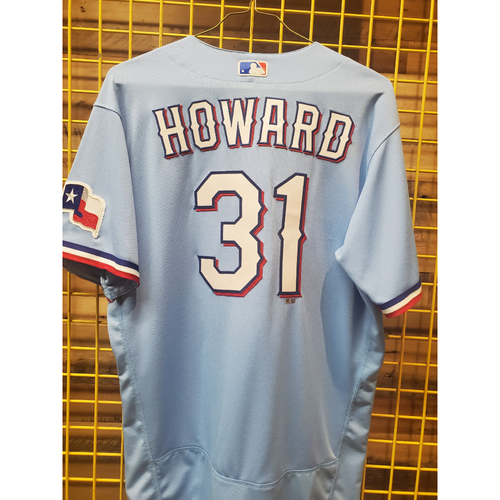Photo of Spencer Howard Team-Issued Baby Blue Jersey