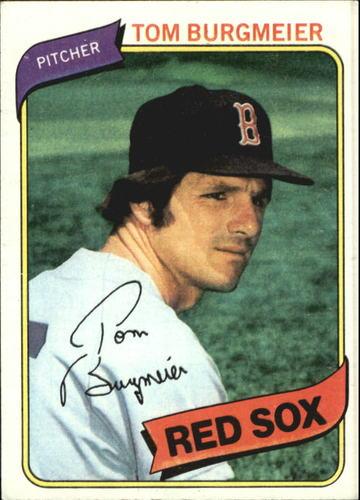 Photo of 1980 Topps #128 Tom Burgmeier