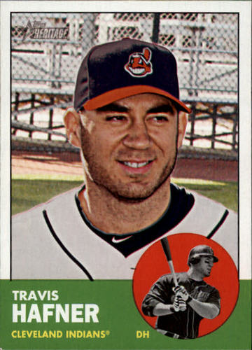 Photo of 2012 Topps Heritage #266 Travis Hafner