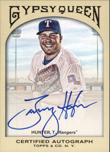 Photo of 2011 Topps Gypsy Queen Autographs #TH Tommy Hunter