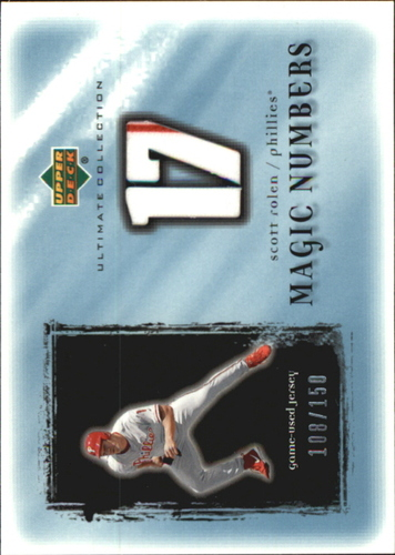 Photo of 2001 Ultimate Collection Magic Numbers Game Jersey #MNSR Scott Rolen