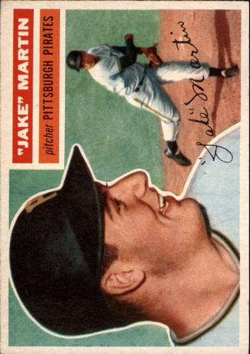 Photo of 1956 Topps #129 Jake Martin RC