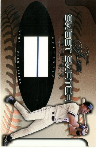 Photo of 2002 Flair Sweet Swatch #14 Mike Piazza/1000