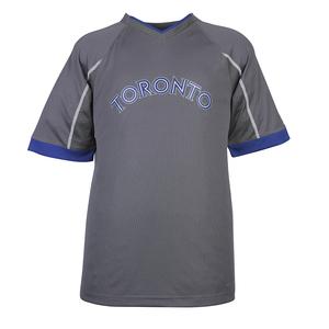 Intense V-Neck T-Shirt by Majestic