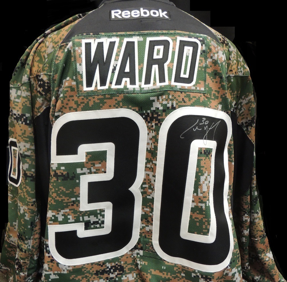 Carolina Hurricanes Cam Ward #30 Military Appreciation Jersey