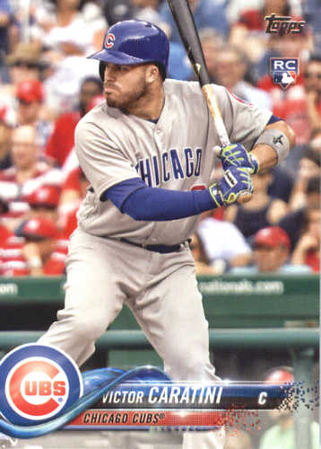 Photo of 2018 Topps #422 Victor Caratini RC
