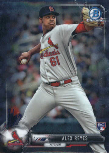 Photo of 2017 Bowman Chrome #6A Alex Reyes RC