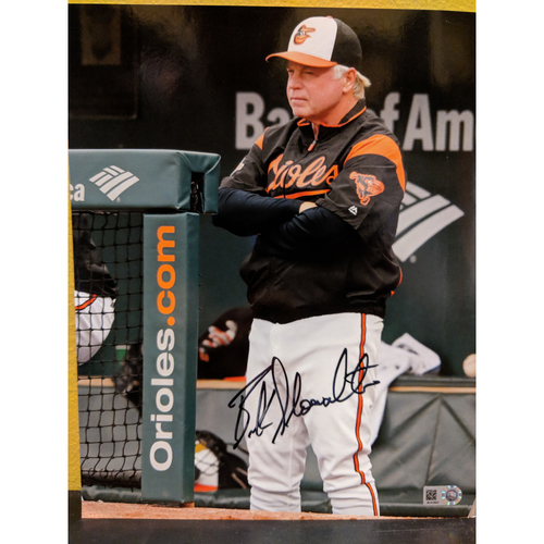 "Photo of Buck Showalter Autographed 8"" x 10"" Photo"