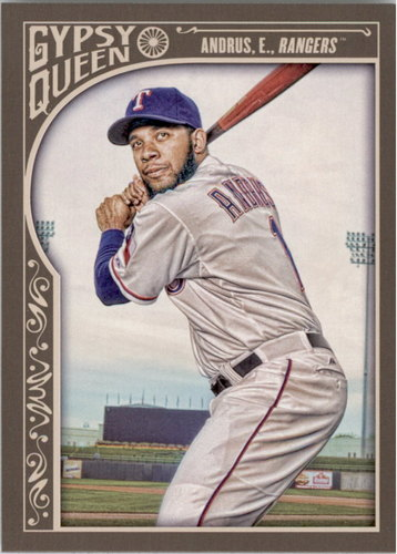 Photo of 2015 Topps Gypsy Queen #268 Elvis Andrus