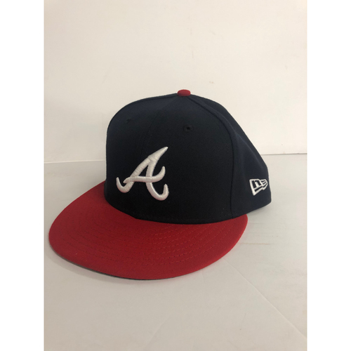 Photo of Mike Soroka Game Used Cap - Worn during Home Debut at SunTrust Park May 6, 2018