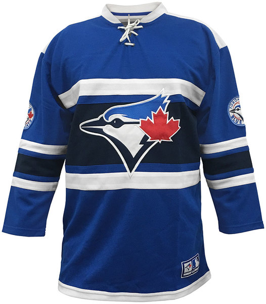 Toronto Blue Jays Home Run Hockey Jersey by Bulletin