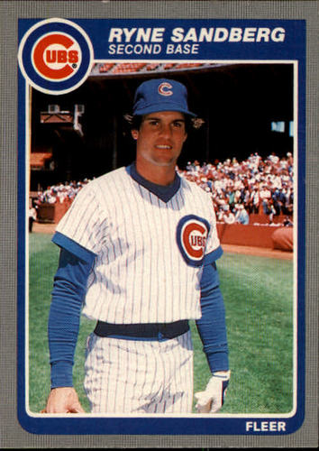 Photo of 1985 Fleer #65 Ryne Sandberg