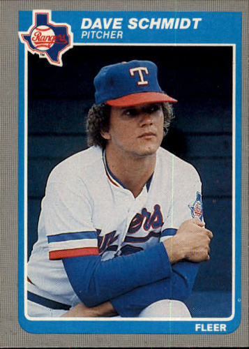Photo of 1985 Fleer #567 Dave Schmidt