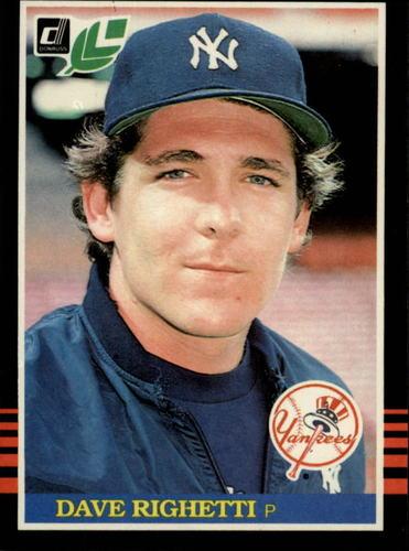 Photo of 1985 Leaf/Donruss #219 Dave Righetti