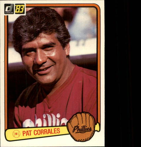 Photo of 1983 Donruss #626 Pat Corrales MG