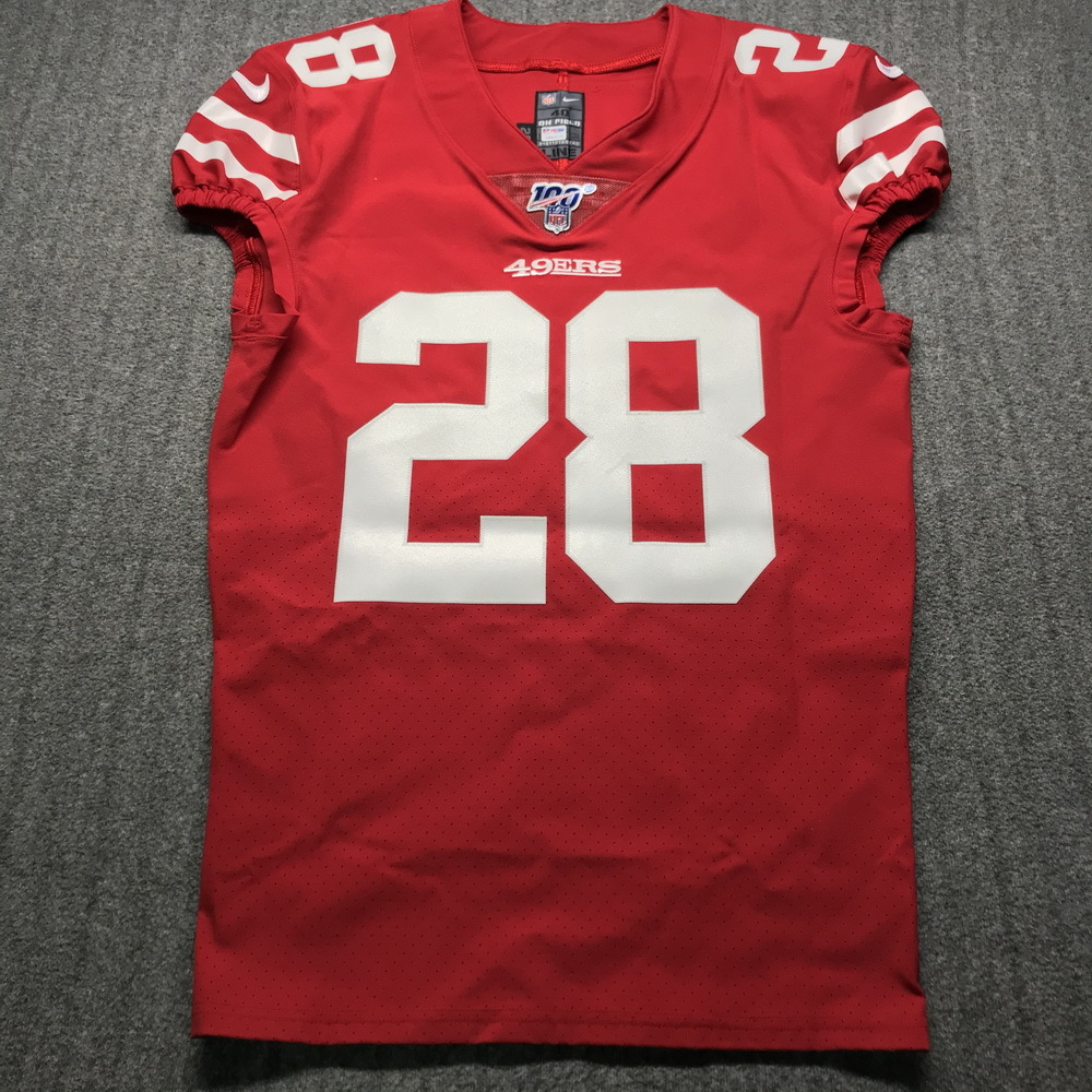 NFL Auction   Crucial Catch - 49ers Jerick McKinnon Game Issued ...