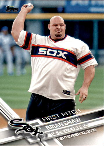 Photo of 2017 Topps First Pitch #FP32 Brian Shaw