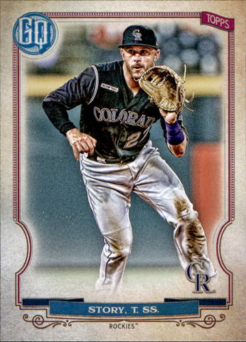 Photo of 2020 Topps Gypsy Queen #111 Trevor Story