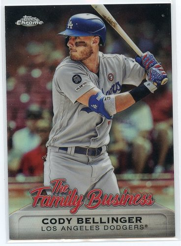 Photo of 2019 Topps Chrome Update The Family Business #FBC21 Cody Bellinger