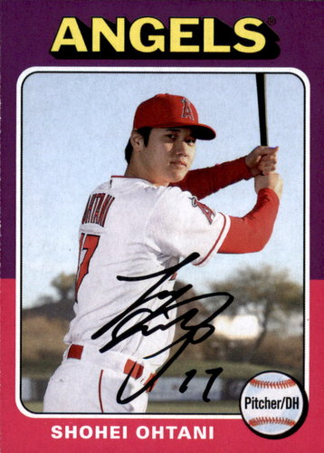 Photo of 2019 Topps Archives #101 Shohei Ohtani