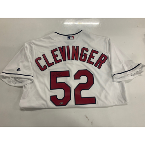Photo of Autographed REPLICA Jersey: Mike Clevinger #52