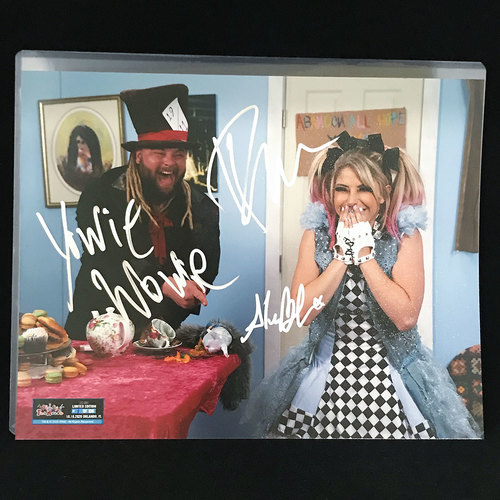 Photo of Bray Wyatt and Alexa Bliss SIGNED 11x14 Photo (#1 of 100)