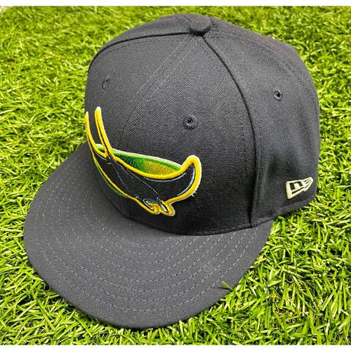Photo of Team Issued Devil Rays Cap: Aaron Slegers #57