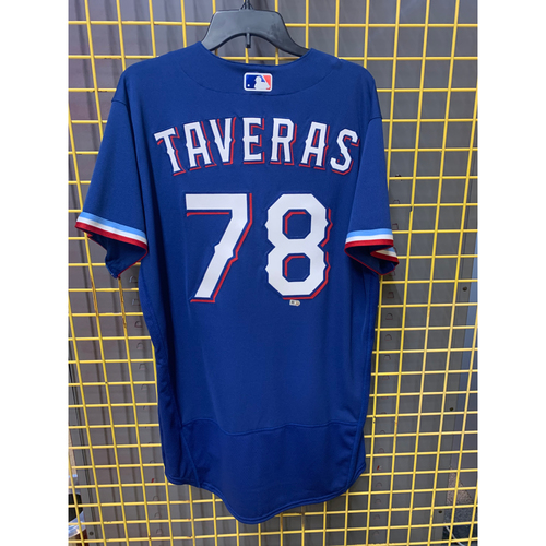 Photo of 2020 Team-Issued Texas Rangers Spring Training Jersey - Leody Taveras