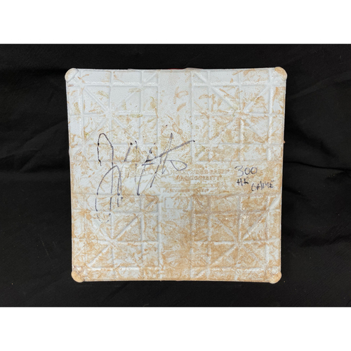 Photo of Joey Votto *Game-Used, Autographed & Inscribed* First Base (Innings 1-4) -- Used On Field for Joey Votto's 300th Career Home Run -- CHC vs. CIN on 04/30/2021