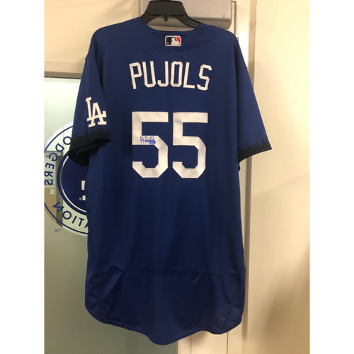 Photo of Albert Pujols Authentic Autographed City Connect Jersey - Size 52