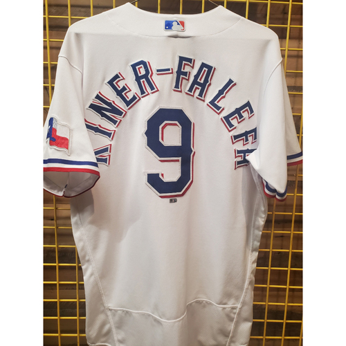 Photo of Isiah Kiner-Falefa Team-Issued White Jersey