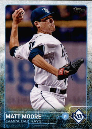 Photo of 2015 Topps #585 Matt Moore