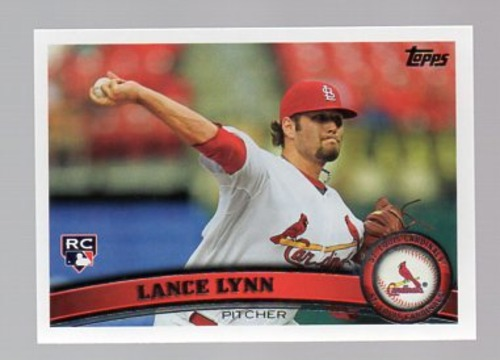 Photo of 2011 Topps Update #US114 Lance Lynn RC