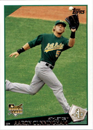 Photo of 2009 Topps #237 Aaron Cunningham RC