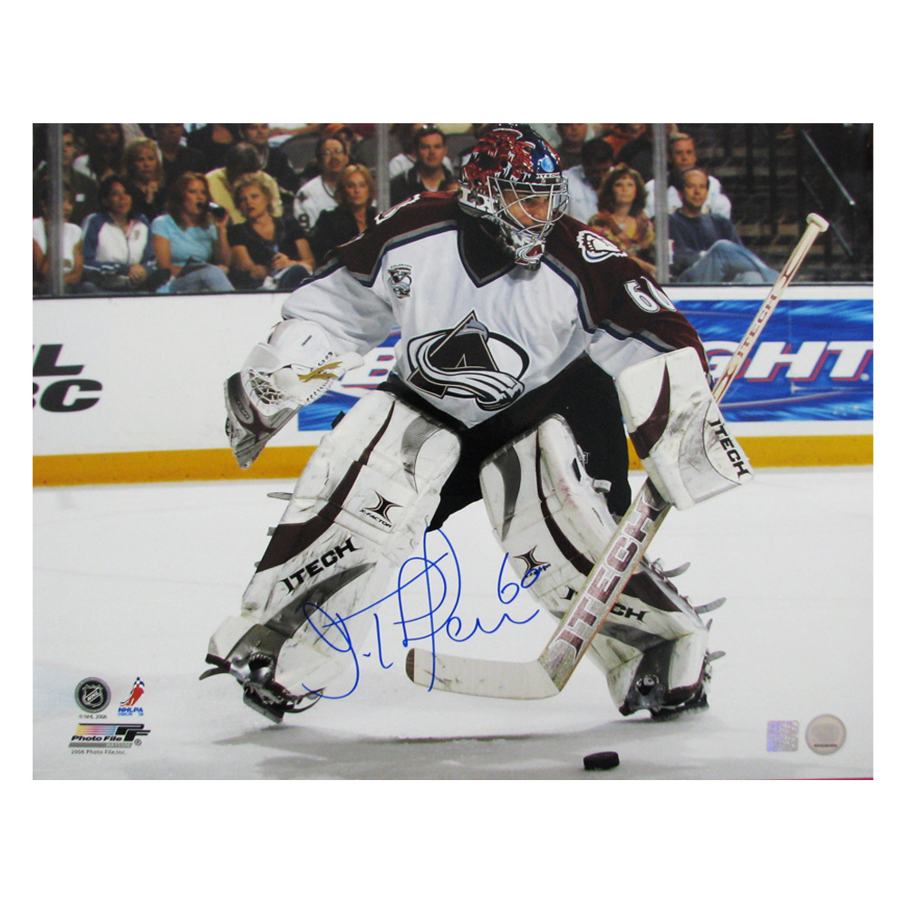 JOSE THEODORE Signed Colorado Avalanche 16 X 20 Photo - 79003