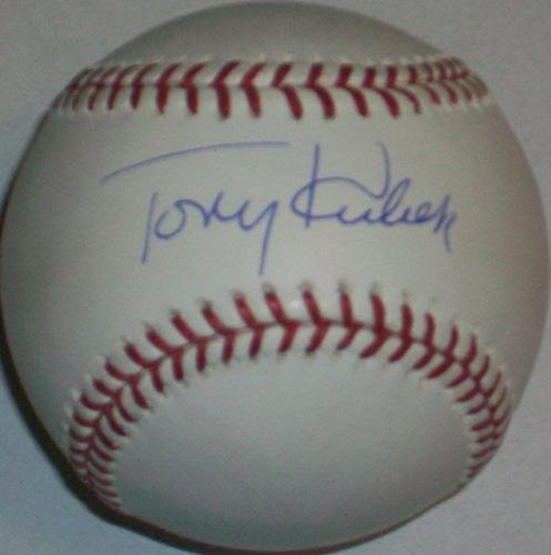 Tony Kubek Autographed Baseball